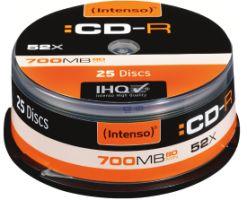 Intenso CD-R 700MB 25er Spindel