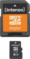 Intenso Micro SD Card 16GB Class 4 inkl. SD Adapter