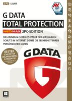 EPE GData TotalProtection 2 PCs 1 Jahr MEDIMAX Edition
