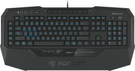 Roccat Isku+ Force FX - RGB Gaming Keyboard with Pressure-Sensitive