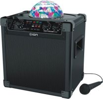 Ion Party Rocker Plus 50W BT Speaker mit LED und Mikrofon