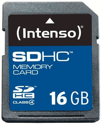 Intenso SD Card 16GB Class 4_0